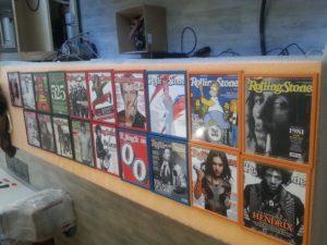 copertine riviste quadri per decorare
