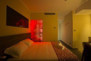 gestione illuminotecnica della camera
