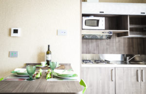 monoblocco cucina interior desogn arredo residence hotel appartament