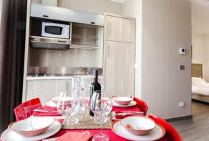 monoblocco cucina mobilspazio soluzione arredo hotel residence