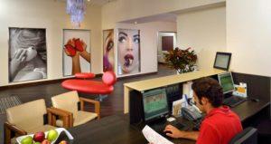soluzione divano futura hall hotel genova