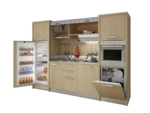 monoblocco cucina arredo hotel residence mobilspazio