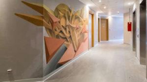 Nyv Milan Hotel street art helparredo