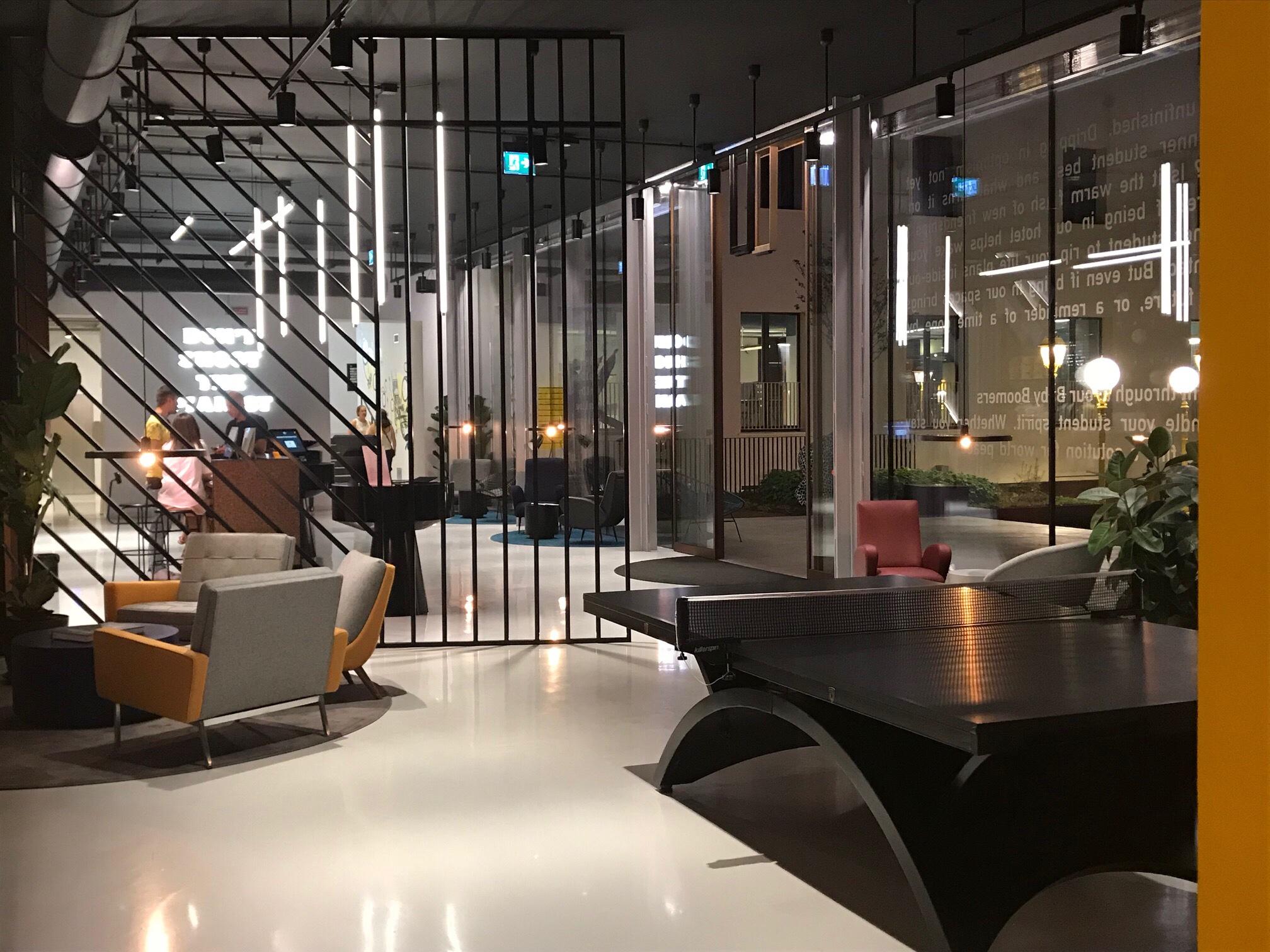 The Student Hotel Firenze concept hotel Interior design trend innovazione viaggiare hospitality design new hotels