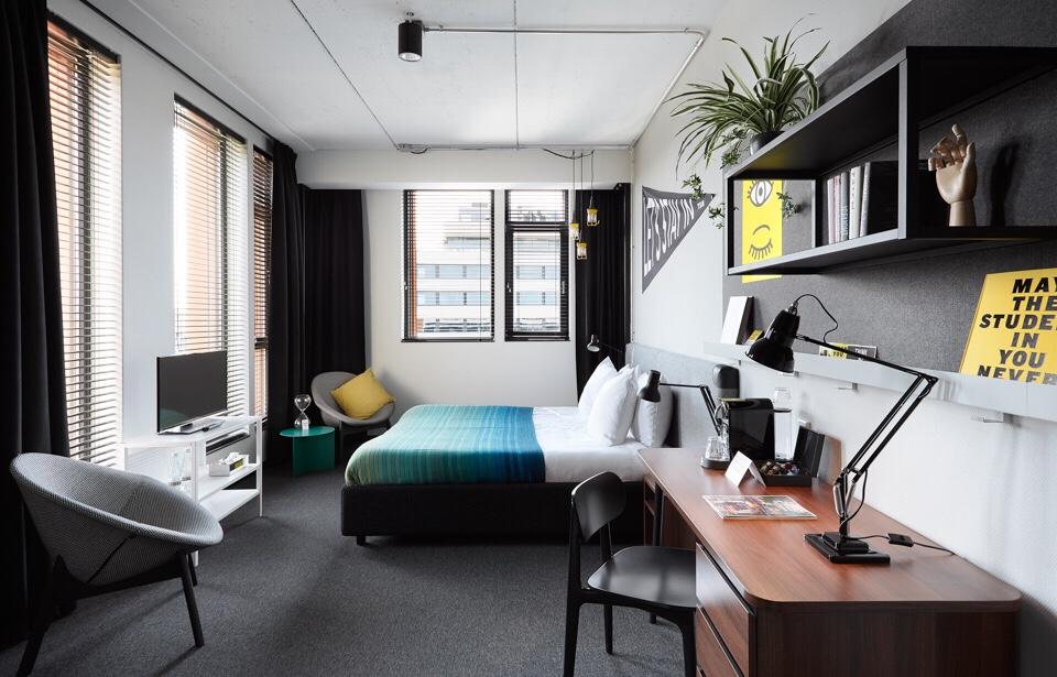 The Student Hotel Firenze concept hotel Interior design trend innovazione viaggiare hospitality design